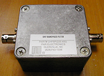 UHFBP(225-400) Bandpass Scanner Filter